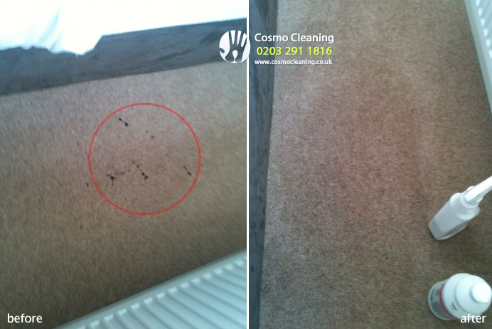 Carpet cleaning - hair extension glue removal