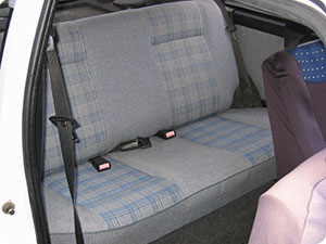 Car Fabric Seats Upholstery Cleaning