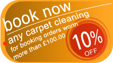 book now any carpet, upholstery, sofa steam cleaning service and get 10% off